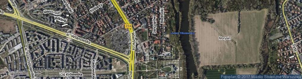 Zdjęcie satelitarne Kolegiacka ul.