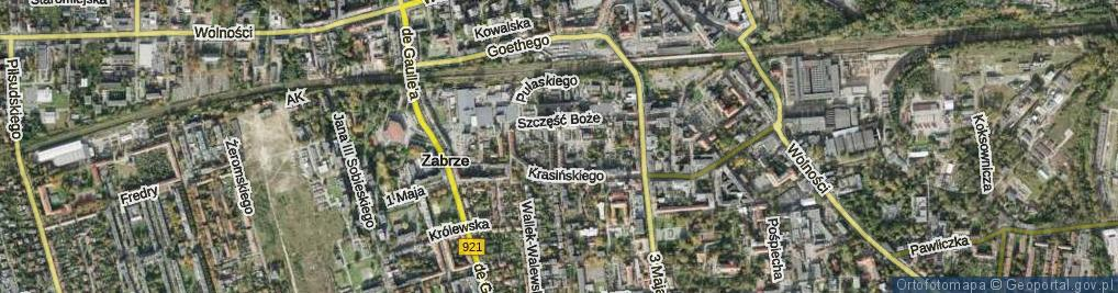 Zdjęcie satelitarne Kobylińskiego Stanisława ul.
