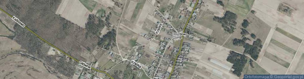 Zdjęcie satelitarne Kraska ul.