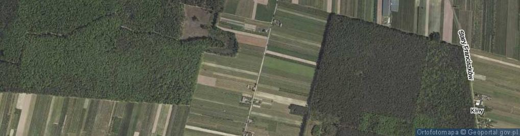Zdjęcie satelitarne Kręciszówka ul.