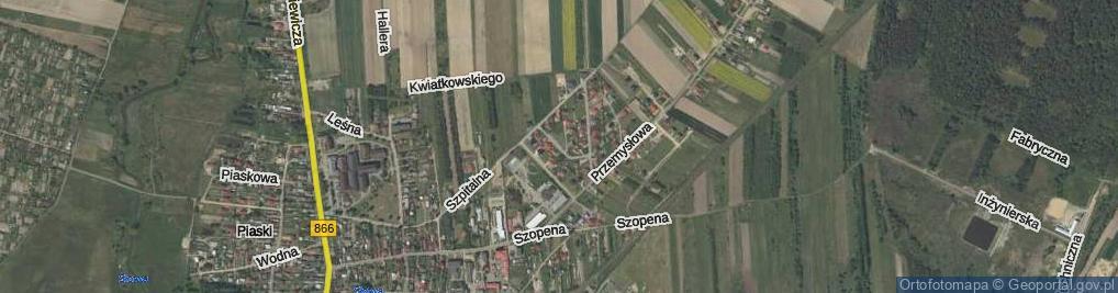 Zdjęcie satelitarne Kruczka Szczepana, dr. ul.