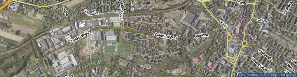 Zdjęcie satelitarne Krokusów ul.