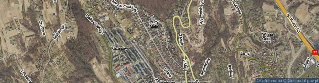 Zdjęcie satelitarne Kramarza Waleriana ul.