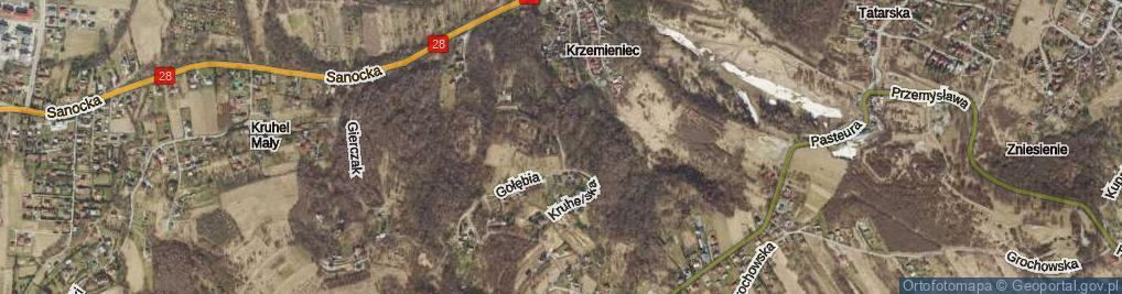 Zdjęcie satelitarne Kruhelska ul.