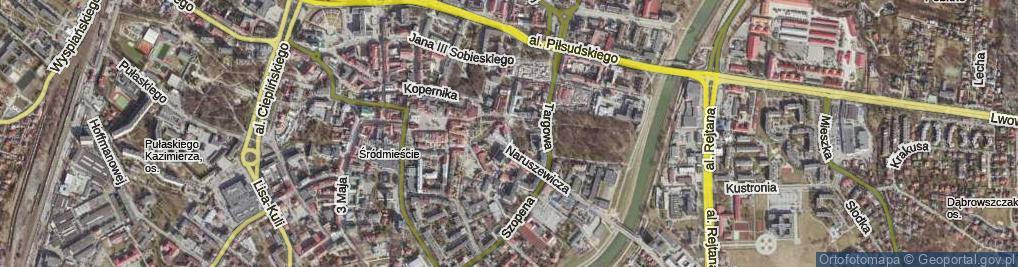 Zdjęcie satelitarne Kreczmera Henryka Jakuba ul.