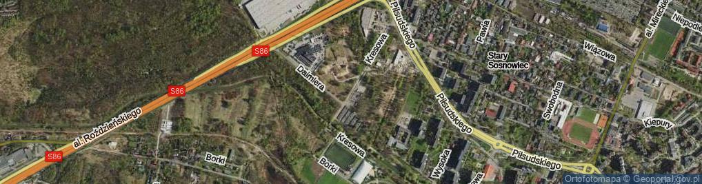 Zdjęcie satelitarne Kresowa ul.