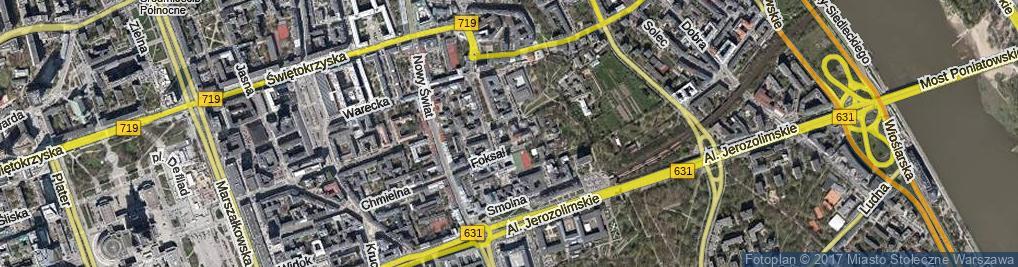 Zdjęcie satelitarne Krywulta Aleksandra ul.