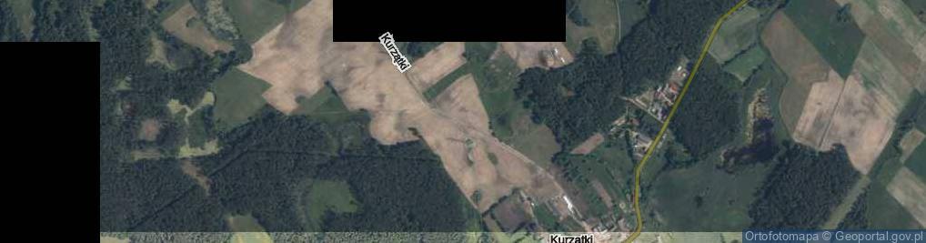 Zdjęcie satelitarne Kurzątki ul.