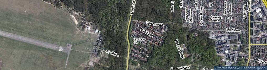 Zdjęcie satelitarne Kuncewiczowej Marii ul.