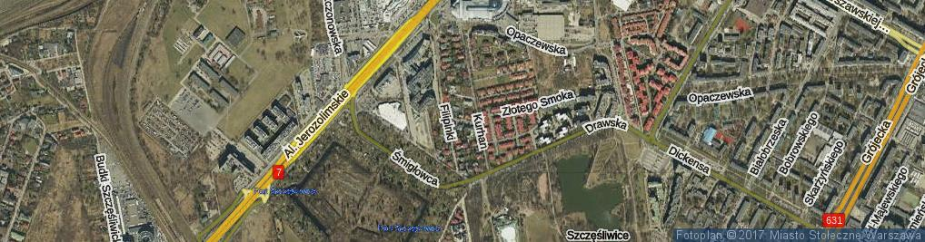 Zdjęcie satelitarne Kukiełki ul.
