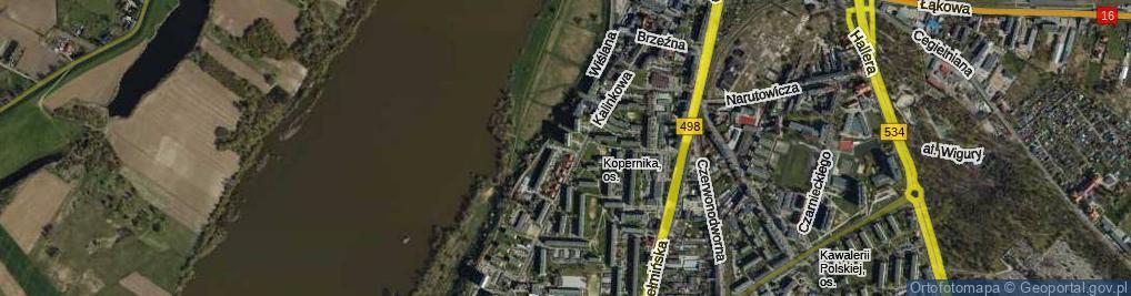 Zdjęcie satelitarne Landowskiego Leona, dr. ul.