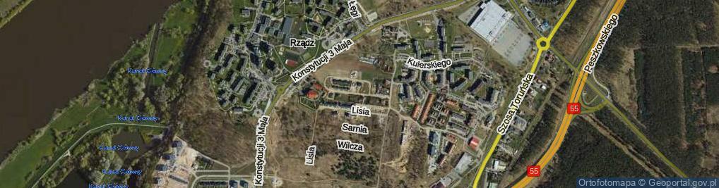 Zdjęcie satelitarne Łaszewskiego Stefana, dr. ul.