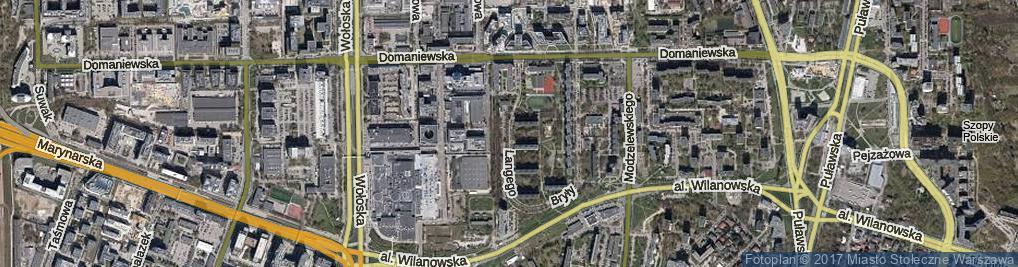Zdjęcie satelitarne Langego Oskara ul.