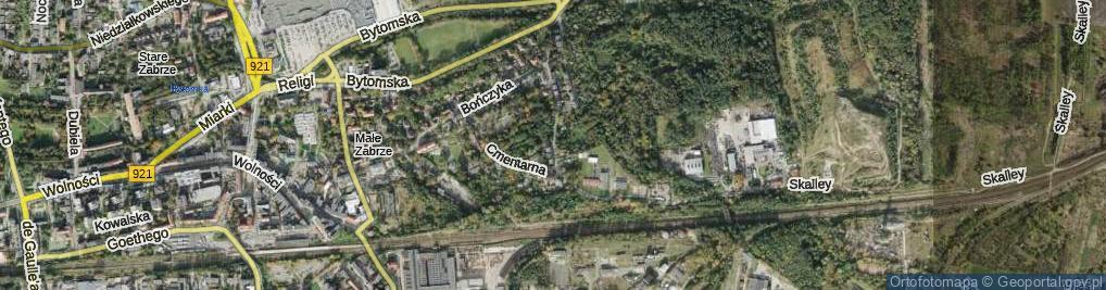 Zdjęcie satelitarne Lazara Antoniego ul.