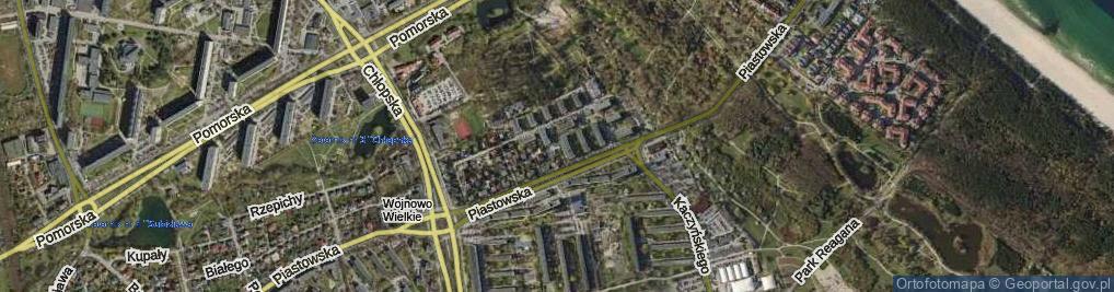 Zdjęcie satelitarne Lecha ul.