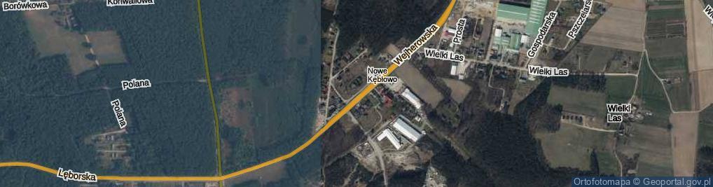 Zdjęcie satelitarne Leśnicza ul.