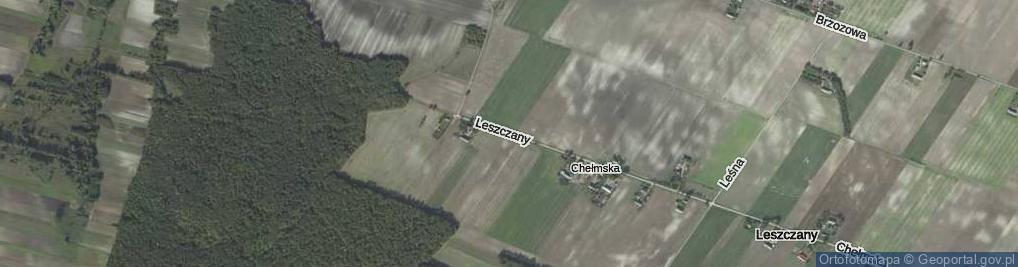 Zdjęcie satelitarne Leszczany ul.