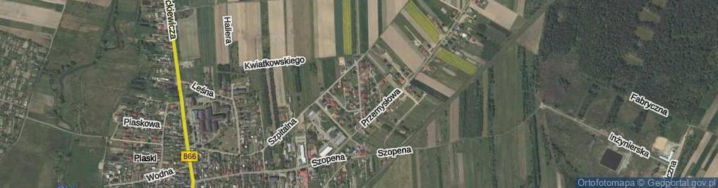 Zdjęcie satelitarne Leszczyńskiego Zygmunta, dr. ul.