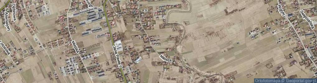 Zdjęcie satelitarne Leśmiana Bolesława ul.