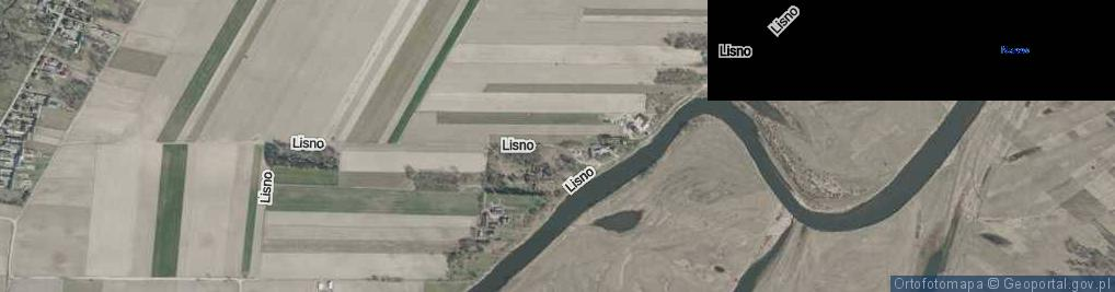 Zdjęcie satelitarne Lisno ul.