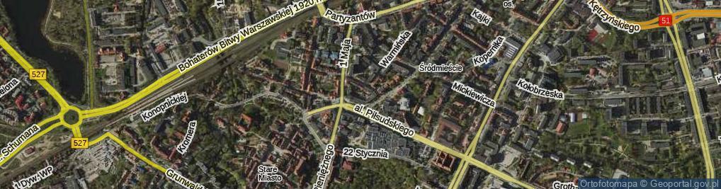 Zdjęcie satelitarne Liszewskiego Jana ul.