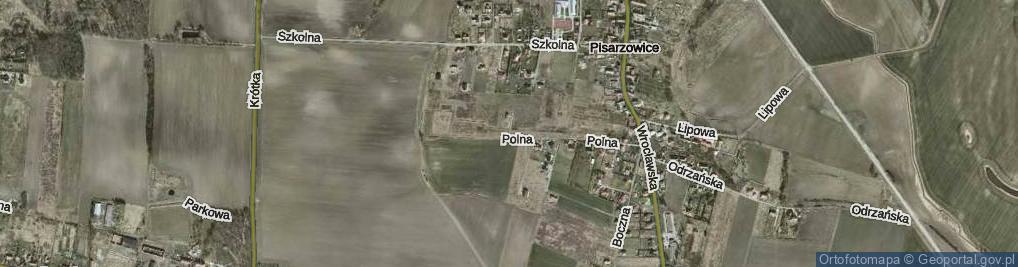 Zdjęcie satelitarne Lotosowa ul.