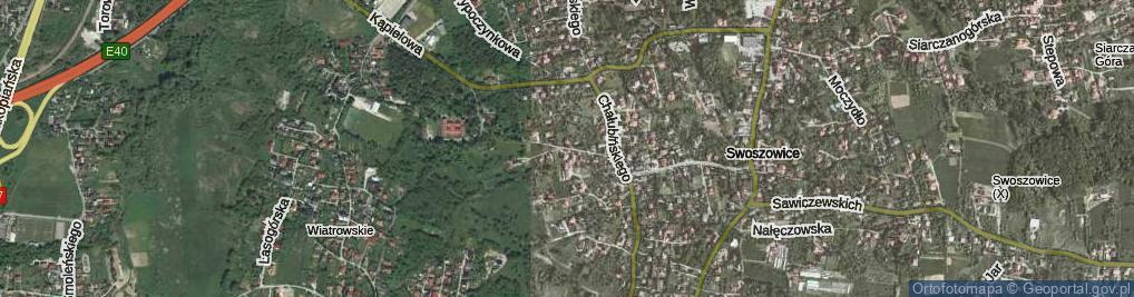 Zdjęcie satelitarne Lusińska ul.