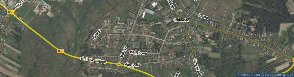 Zdjęcie satelitarne Łukasiewicza Piotra ul.