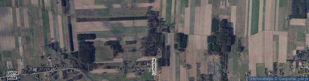 Zdjęcie satelitarne Ludwików ul.