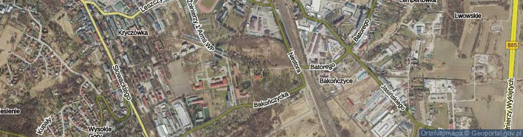 Zdjęcie satelitarne Lubomirskich Książąt ul.