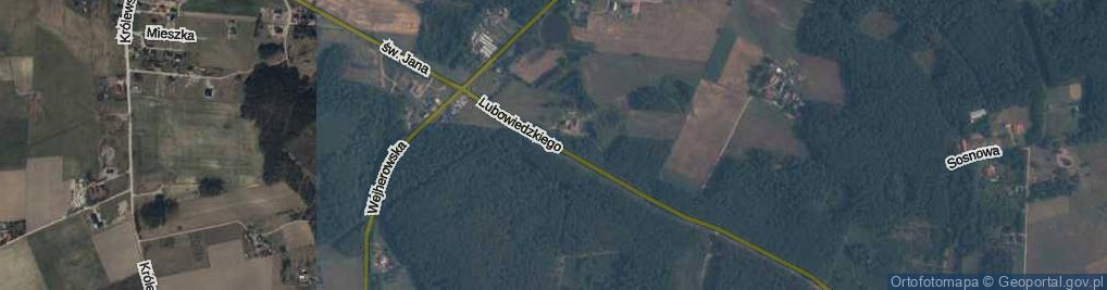 Zdjęcie satelitarne Lubowiedzkiego Ryszarda, ppłk. ul.