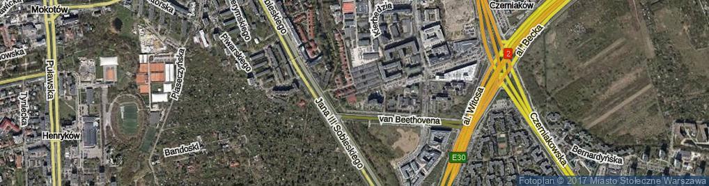Zdjęcie satelitarne Ludwiżanki Barbary ul.