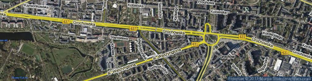 Zdjęcie satelitarne Lubomira ul.