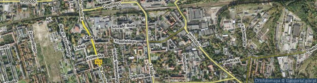Zdjęcie satelitarne Lutra Marcina ul.