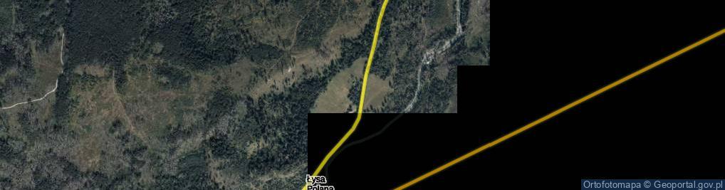 Zdjęcie satelitarne Łysa Polana ul.