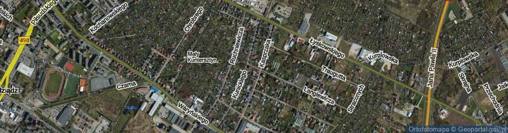 Zdjęcie satelitarne Marchlewskich Jana i Wiktora ul.