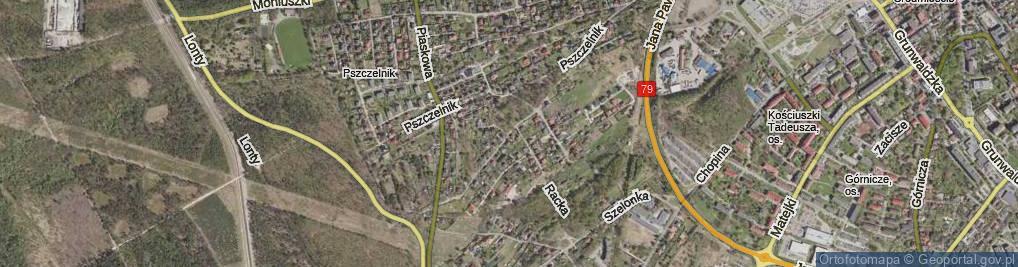 Zdjęcie satelitarne Marusarzówny Heleny ul.