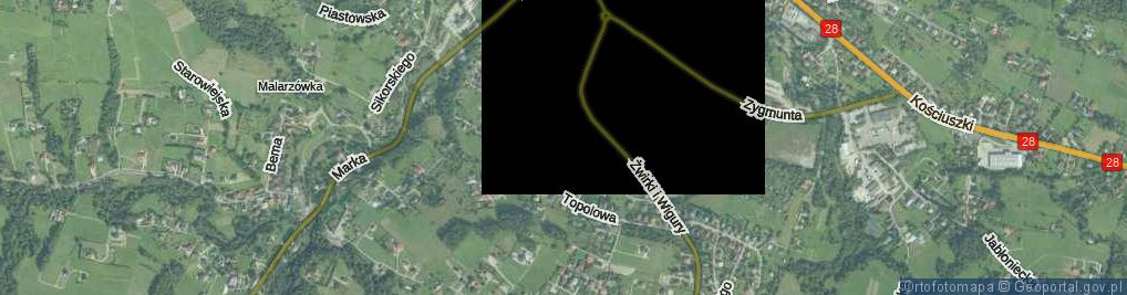 Zdjęcie satelitarne Marszałkowicza Maksymiliana ul.