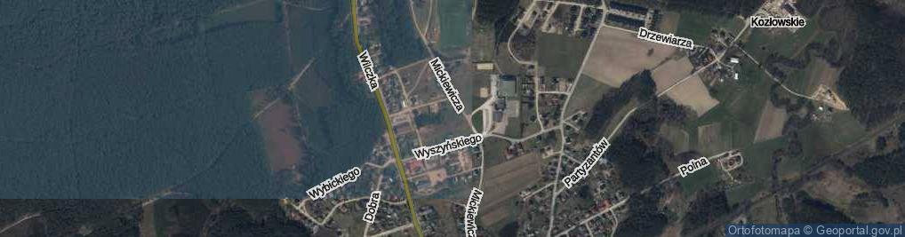 Zdjęcie satelitarne Markowskiego Władysława ul.