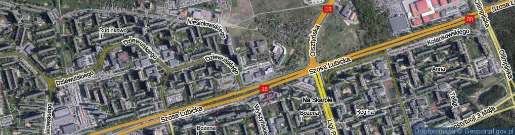 Zdjęcie satelitarne Mańkowskiego Alfonsa, ks. ul.