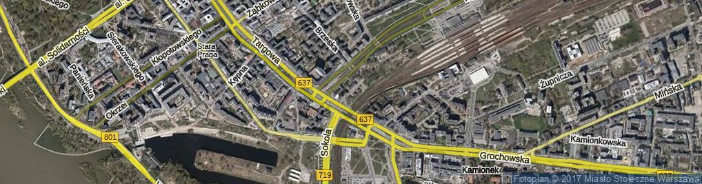 Zdjęcie satelitarne Mackiewicza Antoniego ul.