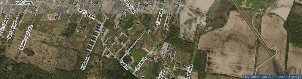 Zdjęcie satelitarne Marszowicka ul.
