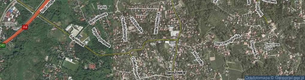 Zdjęcie satelitarne Merkuriusza Polskiego ul.