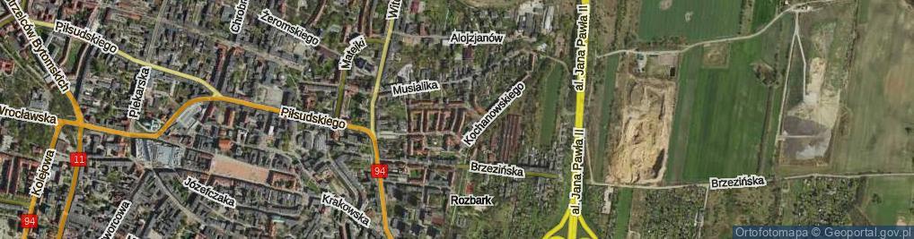 Zdjęcie satelitarne Miętkiewicza Piotra ul.