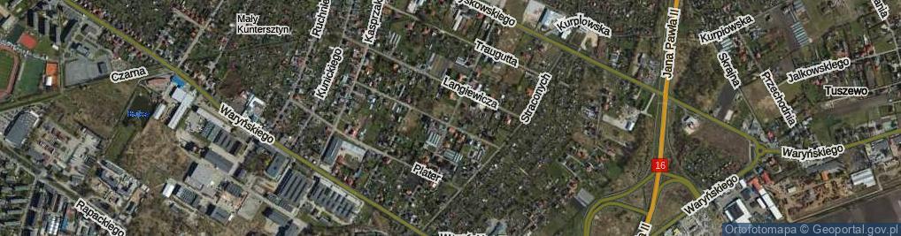 Zdjęcie satelitarne Mierosławskiego Ludwika, gen. ul.