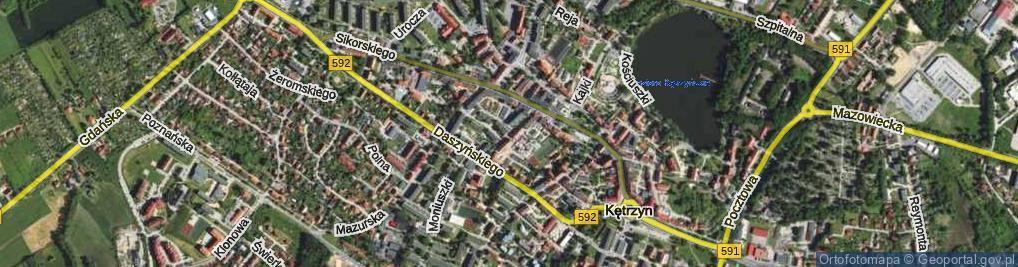 Zdjęcie satelitarne Mielczarskiego Romualda ul.