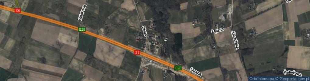 Zdjęcie satelitarne Michałki Bernarda, por. ul.