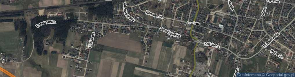 Zdjęcie satelitarne Miętowa ul.