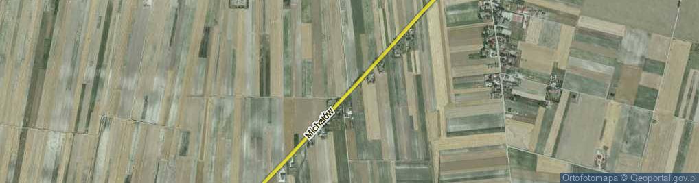 Zdjęcie satelitarne Michałów ul.