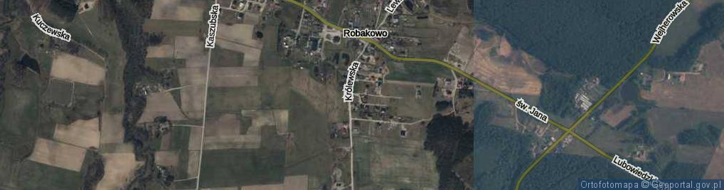 Zdjęcie satelitarne Mieszka ul.